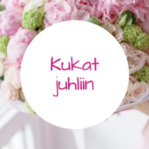 Jennin Kukkapuoti - iloisen palvelun kukkakauppa Tampereella - kukka-asetelmat juhliin
