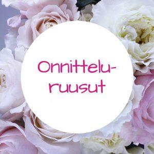 Jennin Kukkapuoti - iloisen palvelun kukkakauppa Tampereella - onnitteluruusut